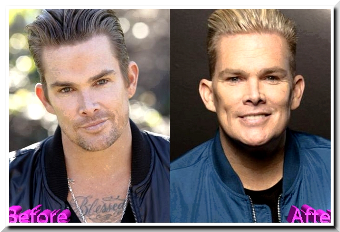What the heck has happened to Mark McGrath?